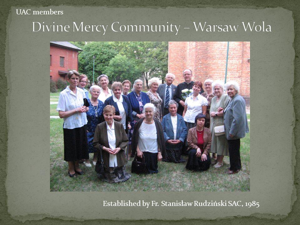 Divine Mercy Community – Warsaw Wola