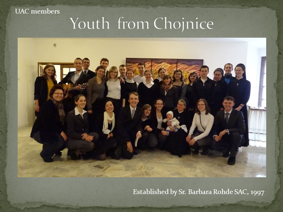 Youth from Chojnice UAC members