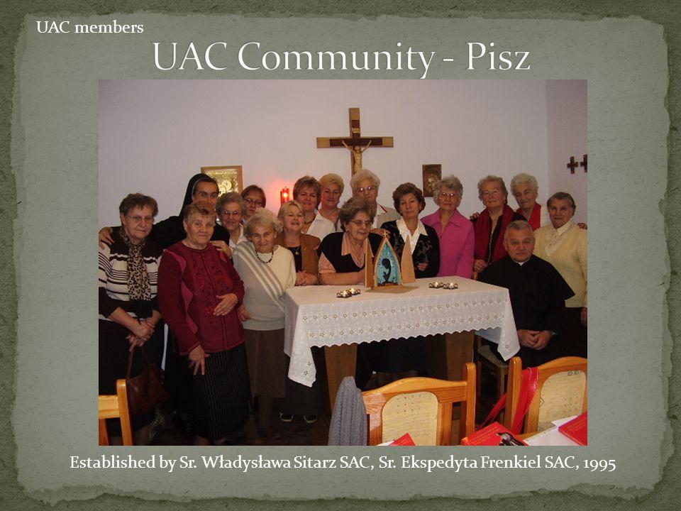 UAC Community - Pisz UAC members