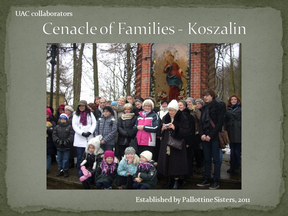 Cenacle of Families - Koszalin