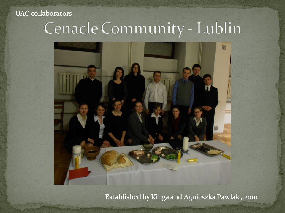 Cenacle Community - Lublin