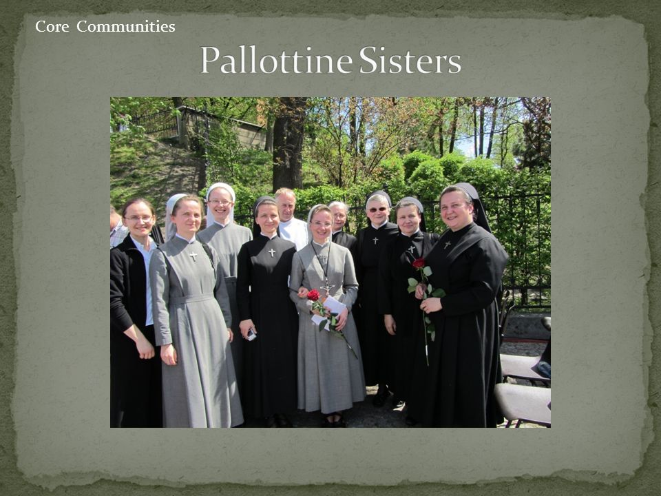 Pallottine Sisters Core Communities