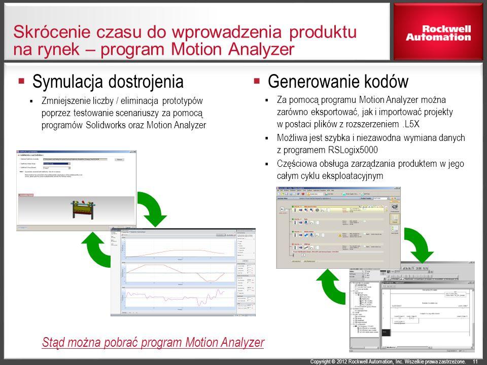 Symulacja dostrojenia Generowanie kodów