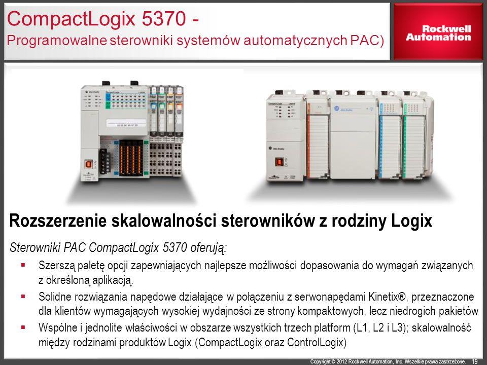 CompactLogix 5370 - Programowalne sterowniki systemów automatycznych PAC)