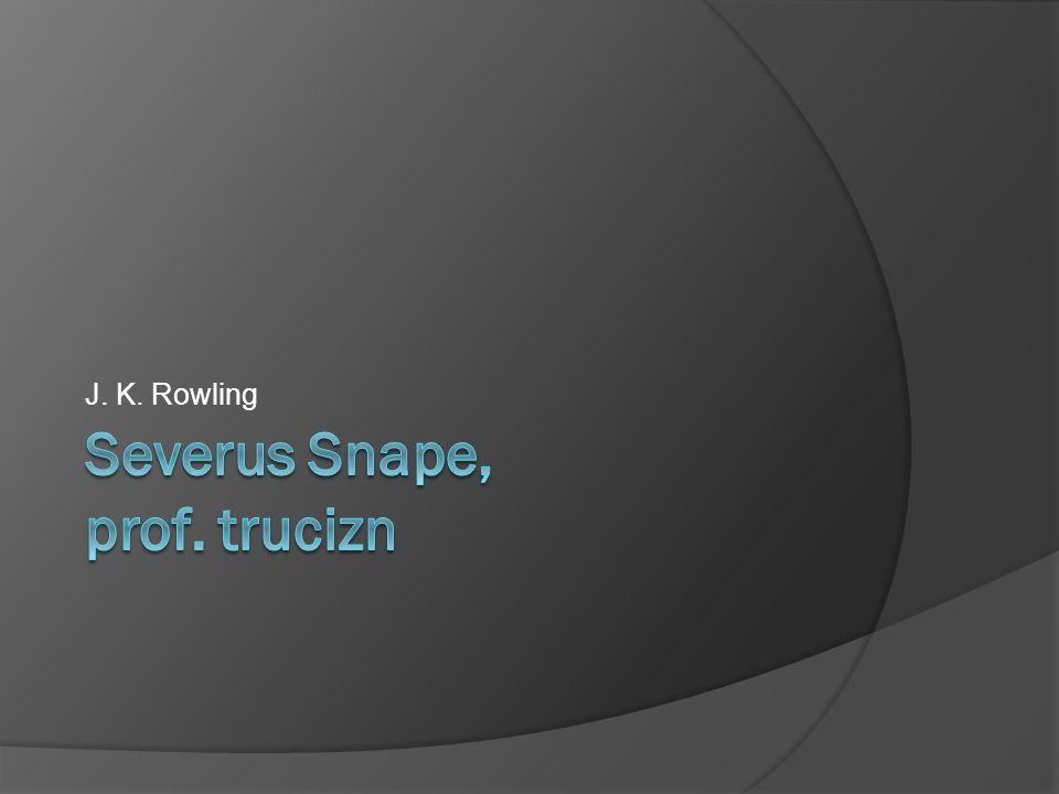 Severus Snape, prof. trucizn