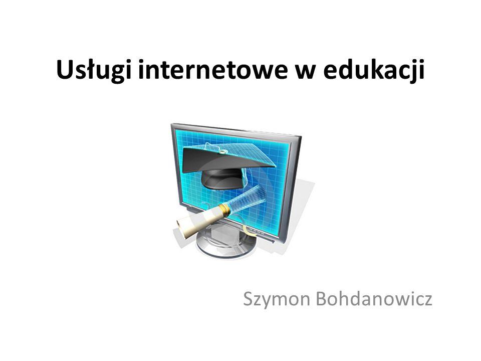 Usługi internetowe w edukacji
