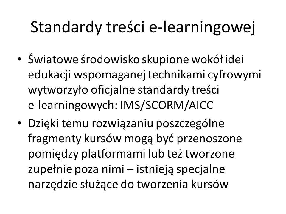 Standardy treści e-learningowej