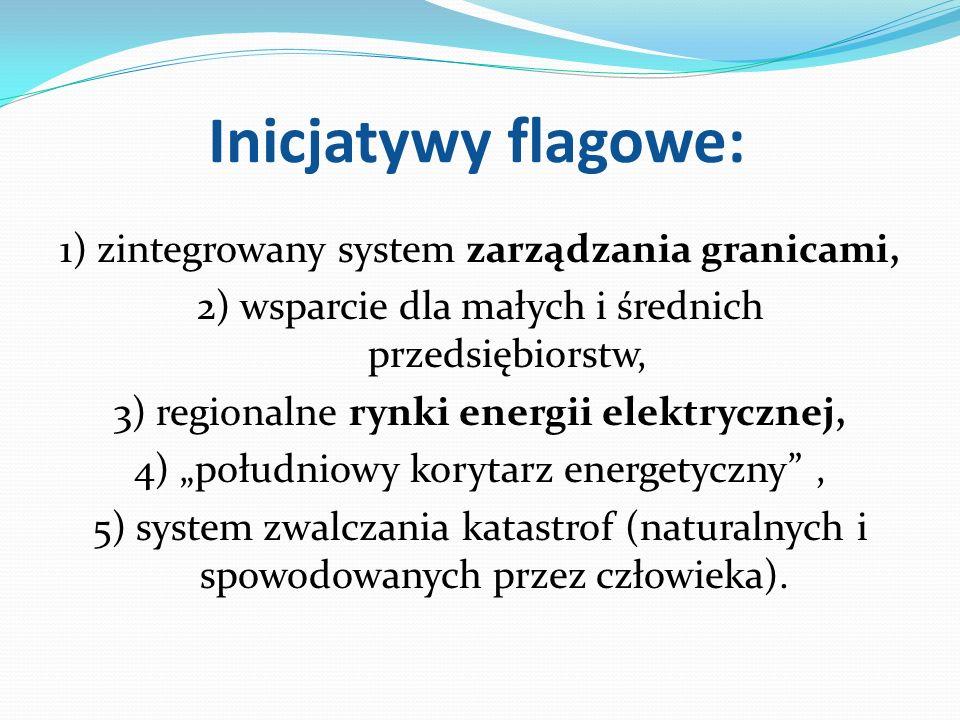 Inicjatywy flagowe: 1) zintegrowany system zarządzania granicami,
