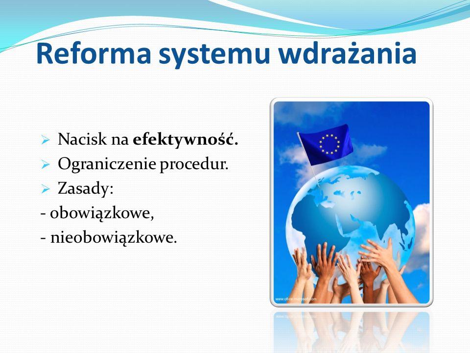 Reforma systemu wdrażania