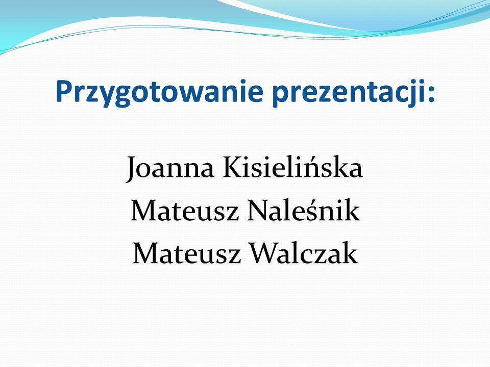 Przygotowanie prezentacji: