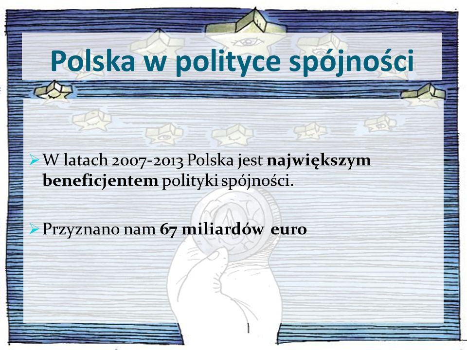 Polska w polityce spójności