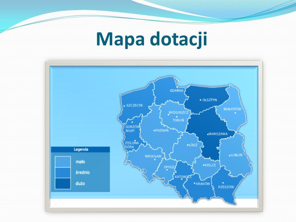 Mapa dotacji