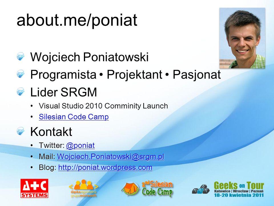 about.me/poniat Wojciech Poniatowski