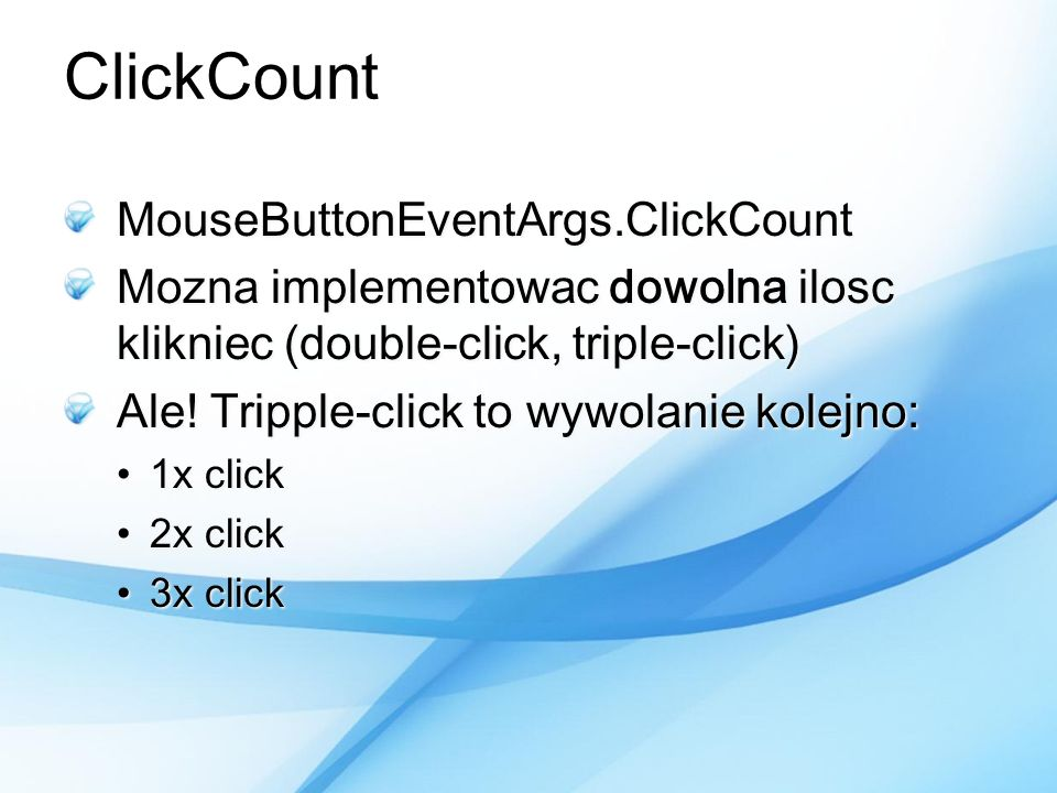 ClickCount MouseButtonEventArgs.ClickCount