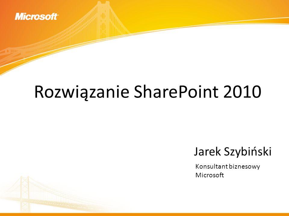 Rozwiązanie SharePoint 2010