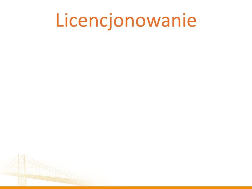 Licencjonowanie