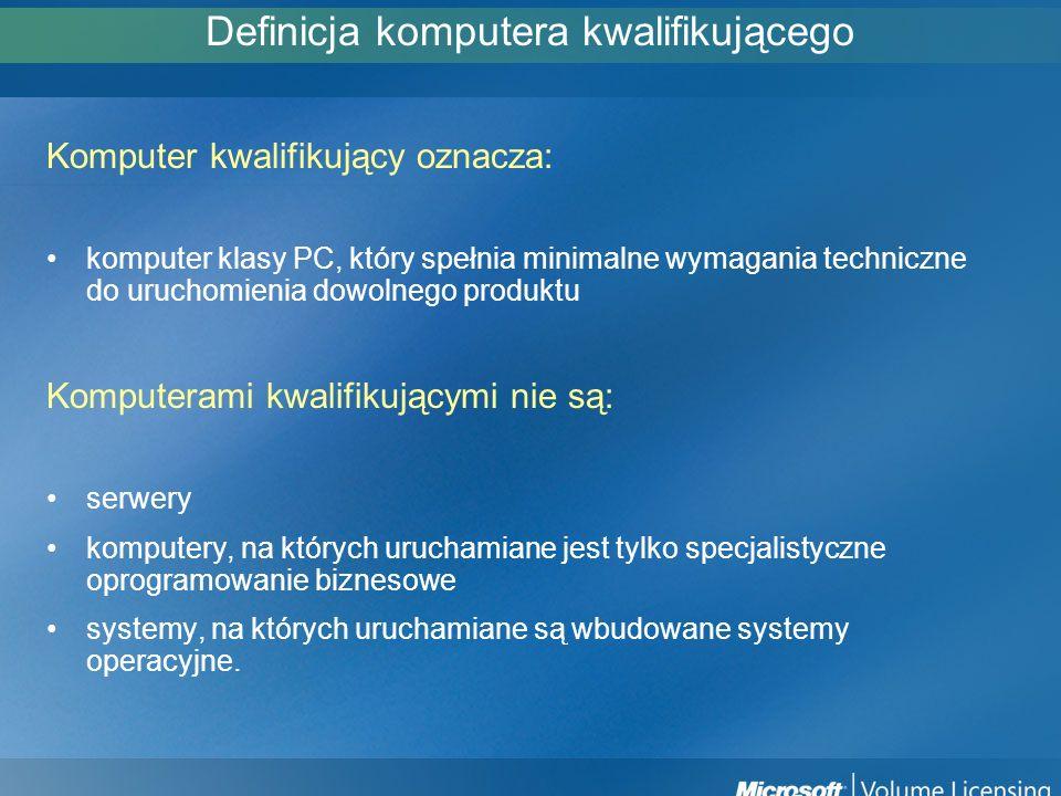 Definicja komputera kwalifikującego