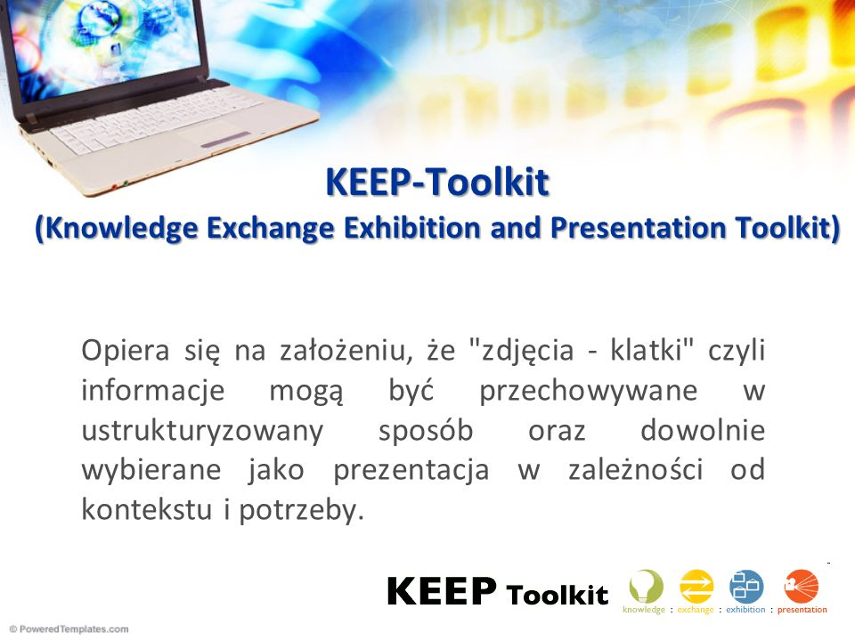 KEEP-Toolkit (Knowledge Exchange Exhibition and Presentation Toolkit)