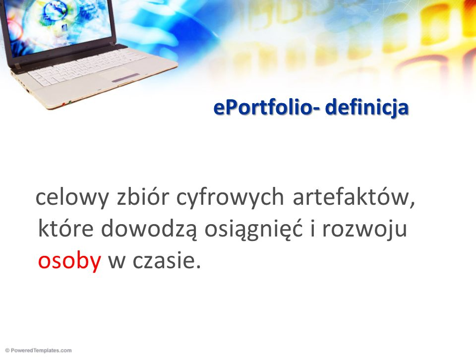 ePortfolio- definicja