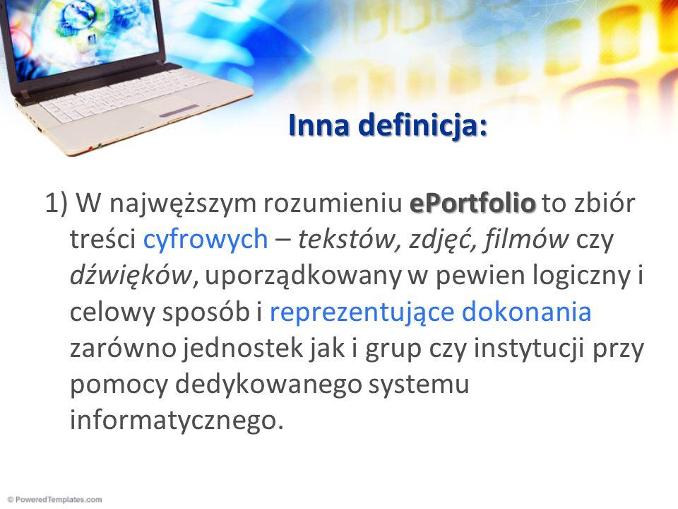 Inna definicja: