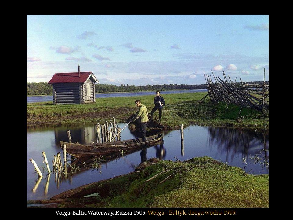 Volga-Baltic Waterway, Russia 1909 Wołga – Bałtyk, droga wodna 1909
