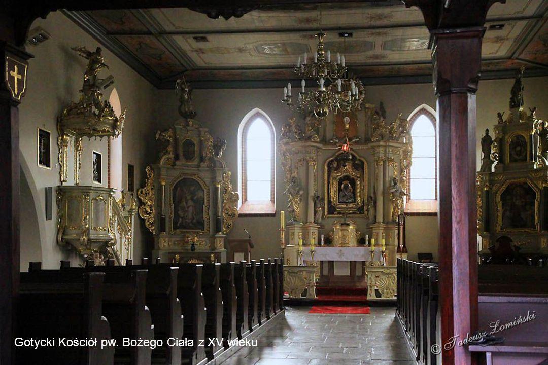 Gotycki Kościół pw. Bożego Ciała z XV wieku