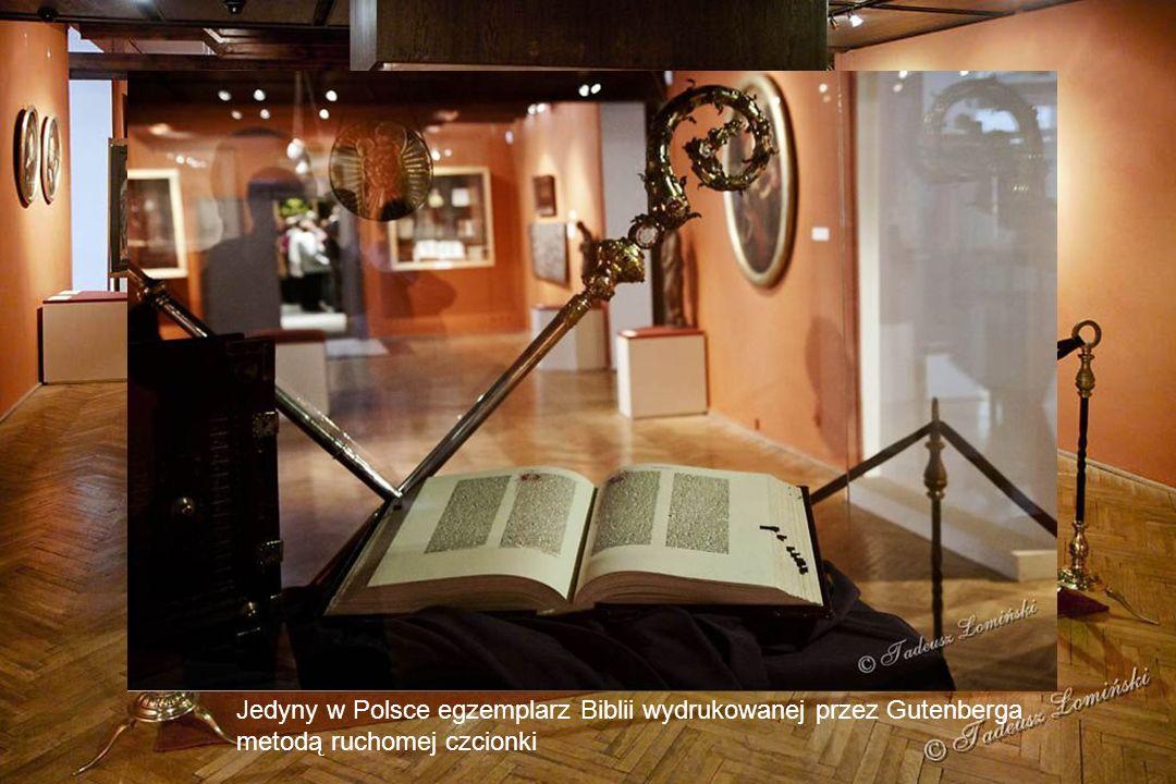 Jedyny w Polsce egzemplarz Biblii wydrukowanej przez Gutenberga