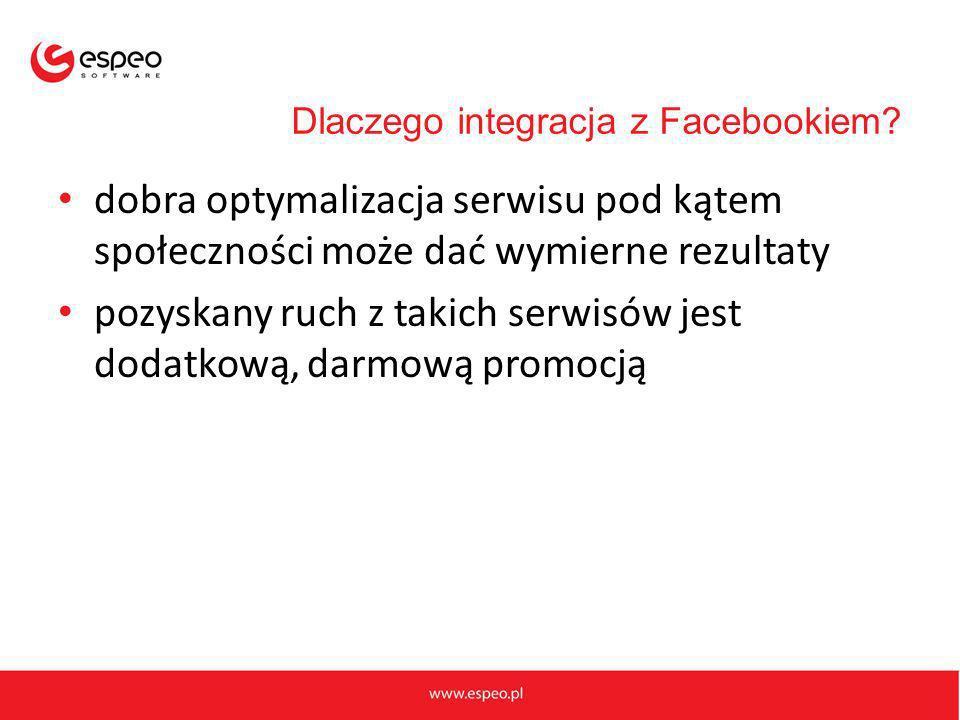 Dlaczego integracja z Facebookiem