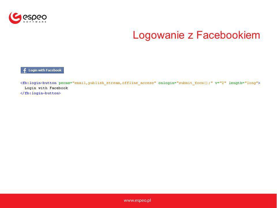 Logowanie z Facebookiem