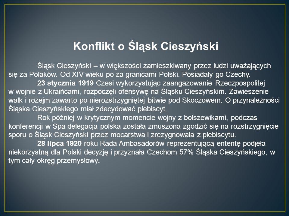 Konflikt o Śląsk Cieszyński