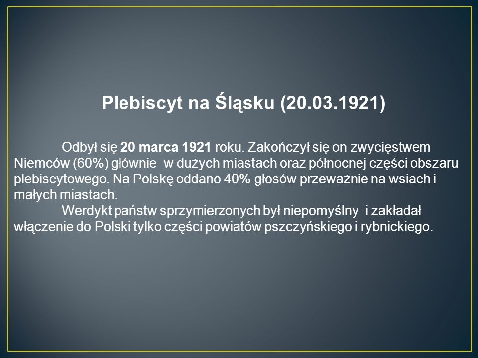 Plebiscyt na Śląsku (20.03.1921)