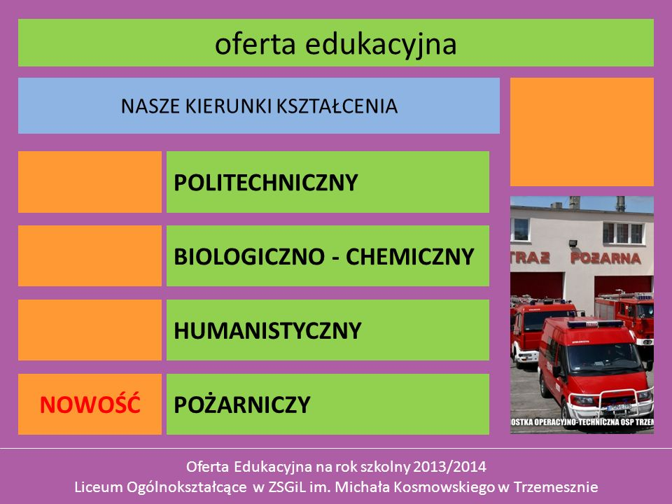 oferta edukacyjna Politei Politechniczny Politei