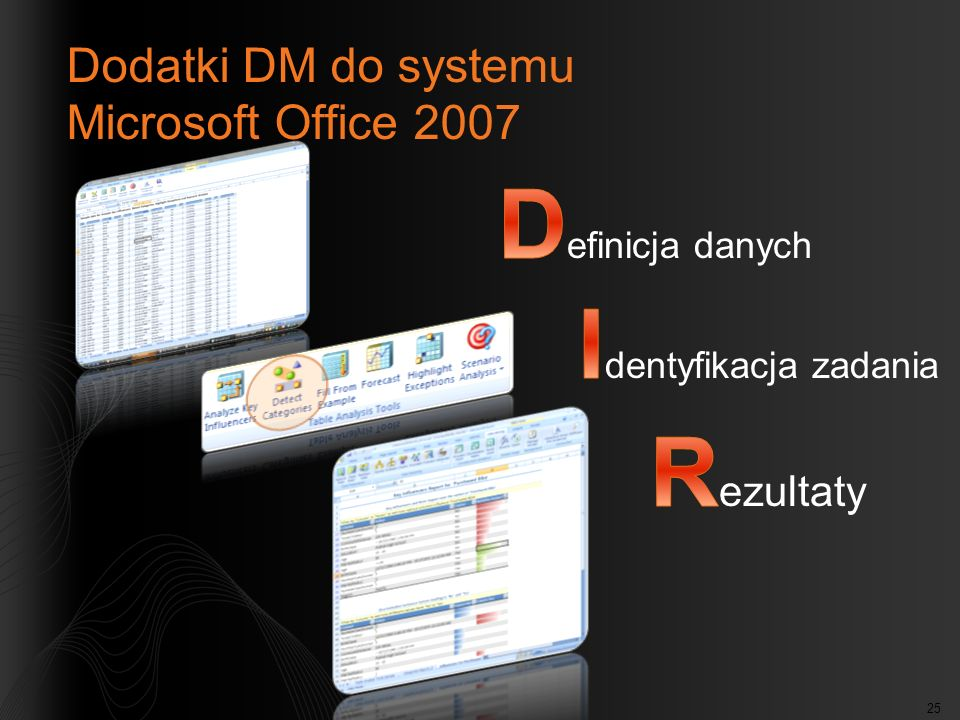 Dodatki DM do systemu Microsoft Office 2007