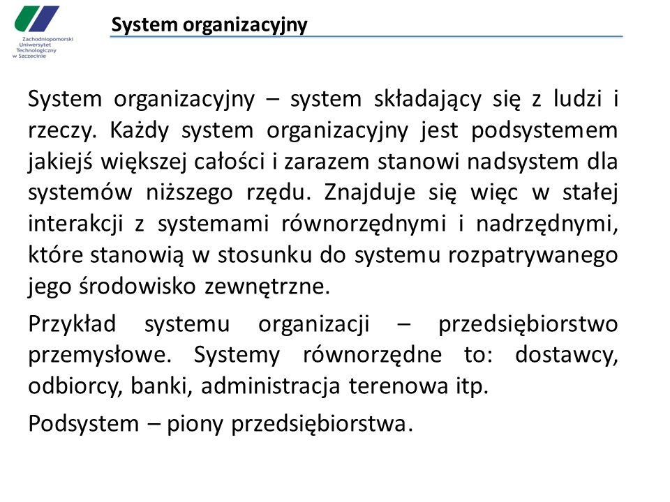System organizacyjny