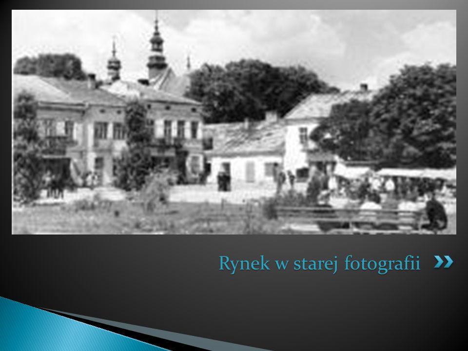 Rynek w starej fotografii