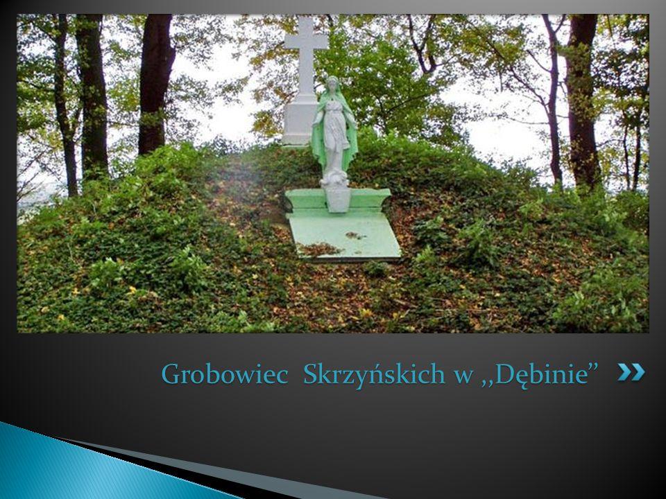 Grobowiec Skrzyńskich w ,,Dębinie''