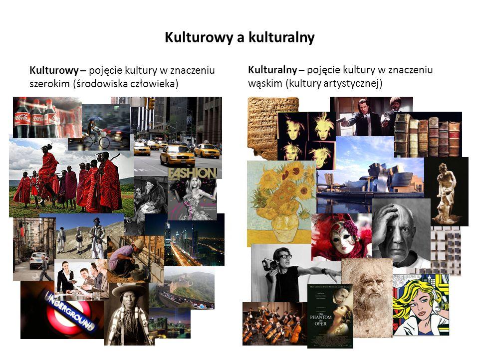 Kulturowy a kulturalny