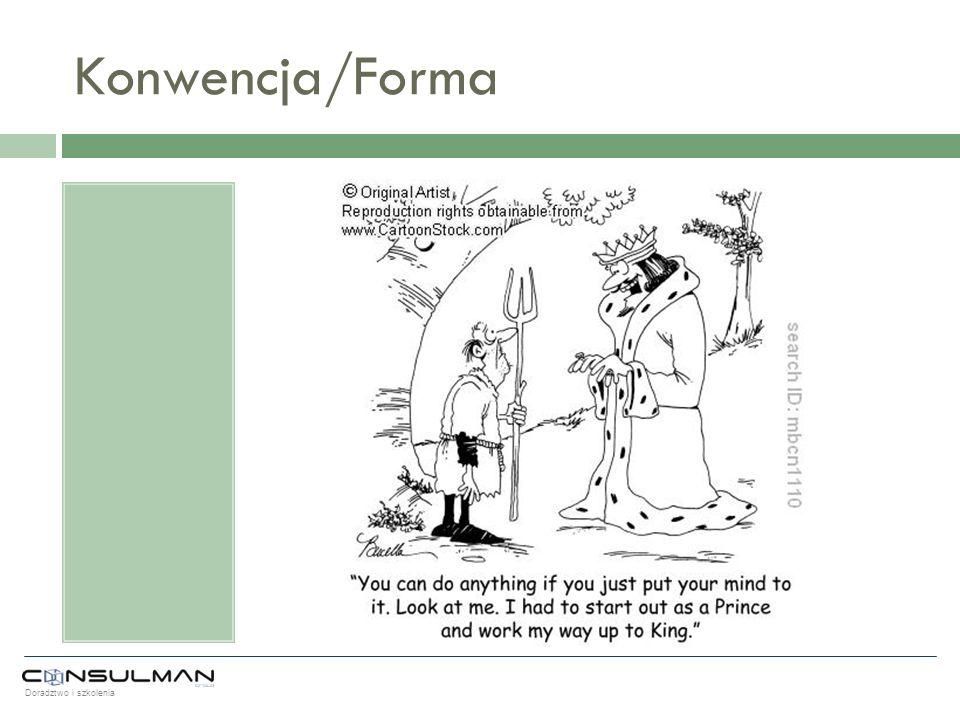 Konwencja/Forma