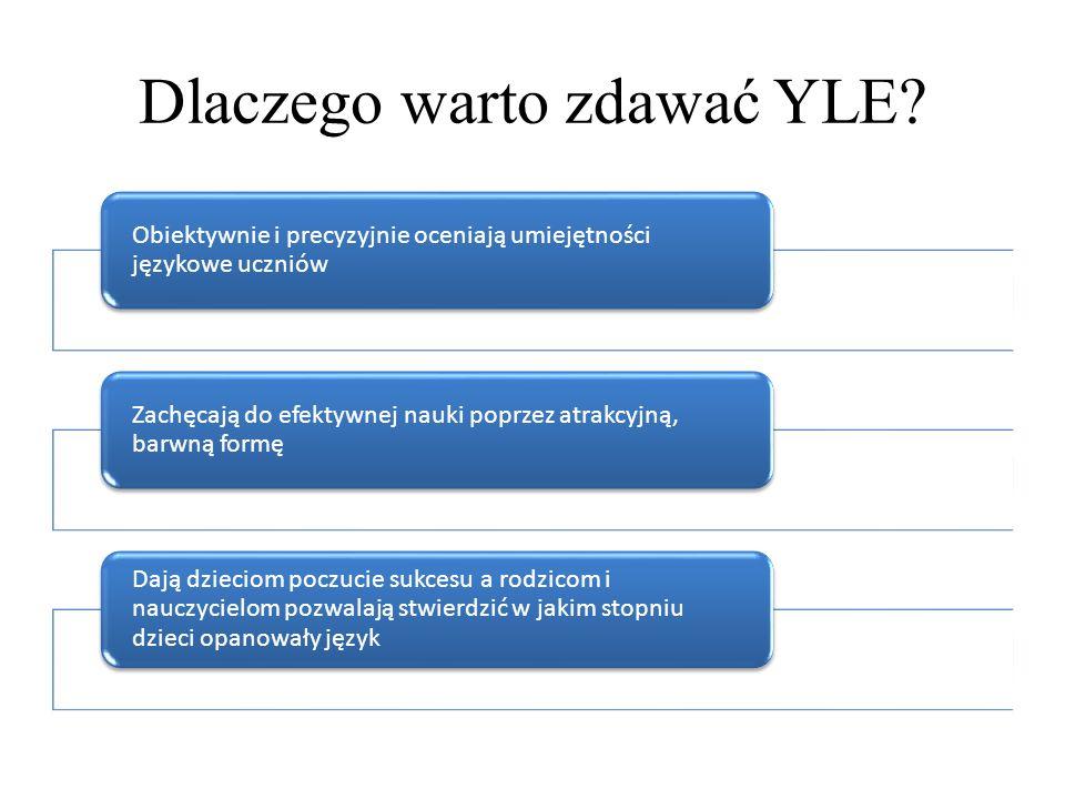 Dlaczego warto zdawać YLE
