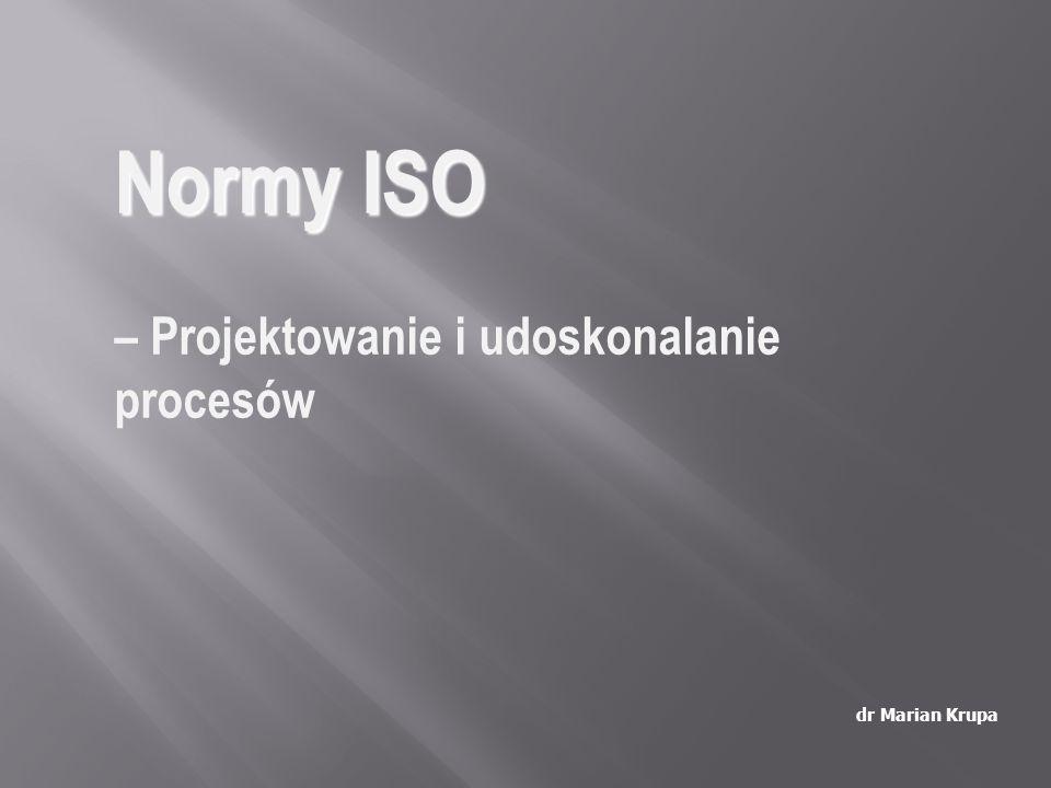 Normy ISO – Projektowanie i udoskonalanie procesów