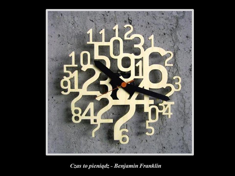 Czas to pieniądz - Benjamin Franklin