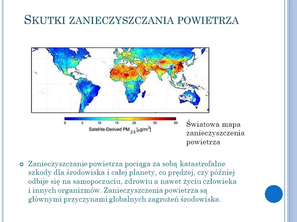 Skutki zanieczyszczania powietrza