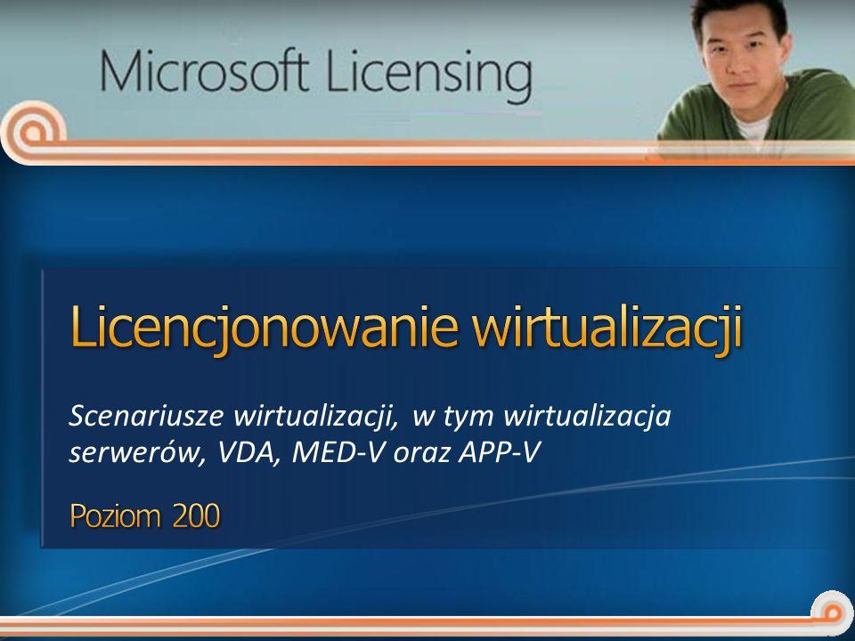 Licencjonowanie wirtualizacji