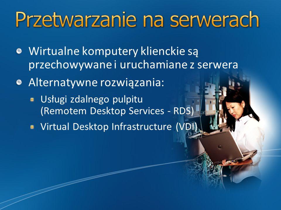 Przetwarzanie na serwerach