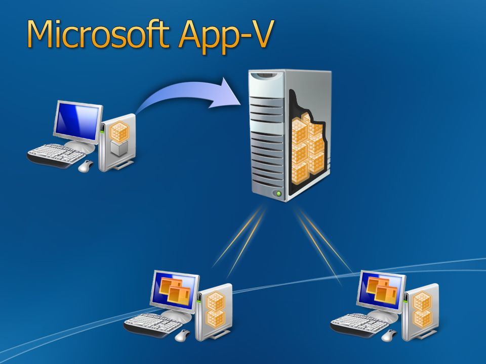 Microsoft App-V Slide Overview: