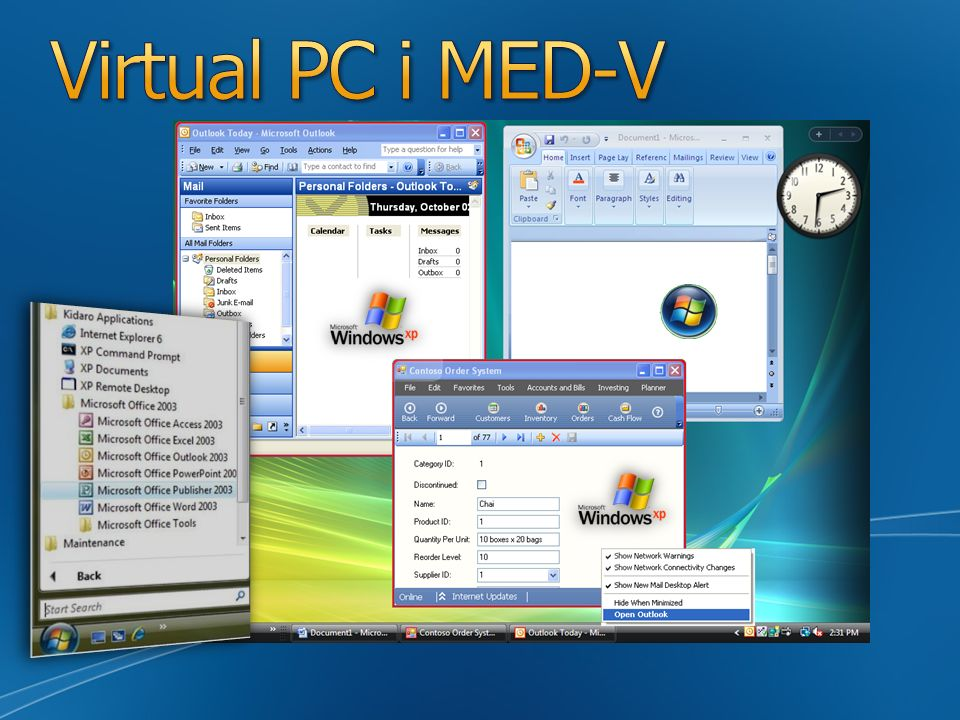 Virtual PC i MED-V Slide Overview: