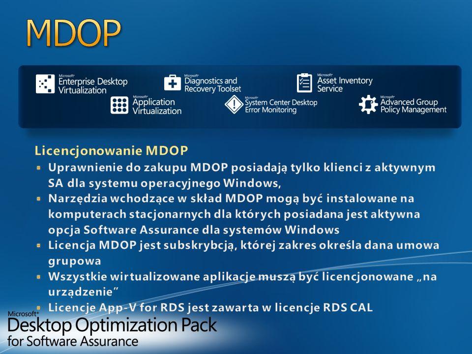 MDOP Licencjonowanie MDOP