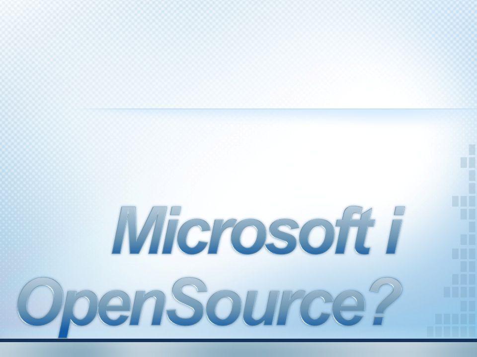 Microsoft i OpenSource