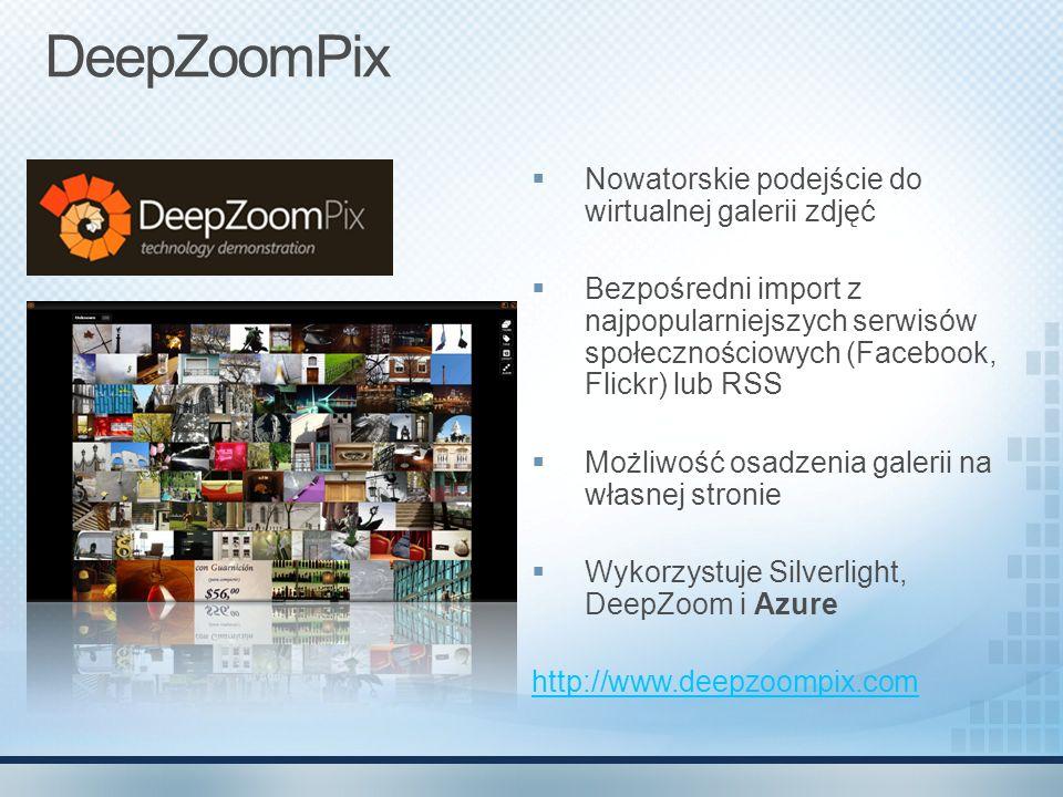 DeepZoomPix Nowatorskie podejście do wirtualnej galerii zdjęć