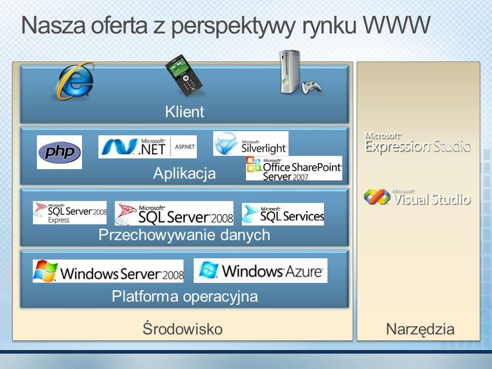 Nasza oferta z perspektywy rynku WWW